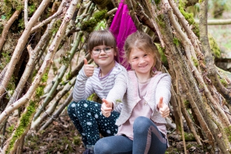 Bubbenhall Wood Isla and Eve Den Building