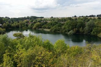 Newbold Quarry lake view Louise Barrack