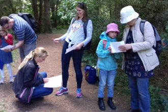 Ufton Fields Family Ramble 2019 Credit Faye Irvine