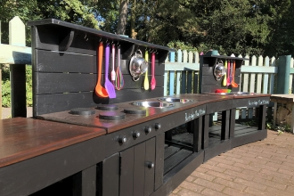 Mud kitchen Parkridge Sep 2019 Credit Tessa Lovell