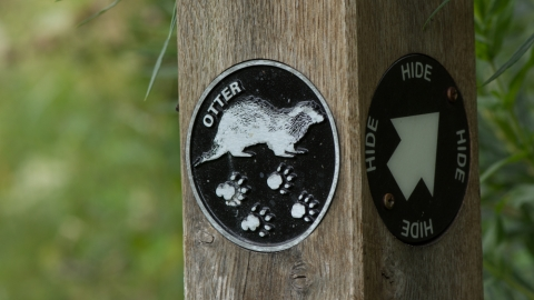 Otter trail post Wjitacre Heath 2015 Steven Cheshire