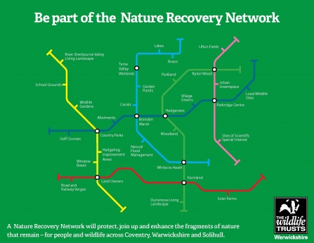 Nature Recovery Network Tube Map