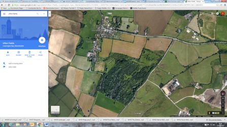 3. Ufton Fields present day - credit Google maps