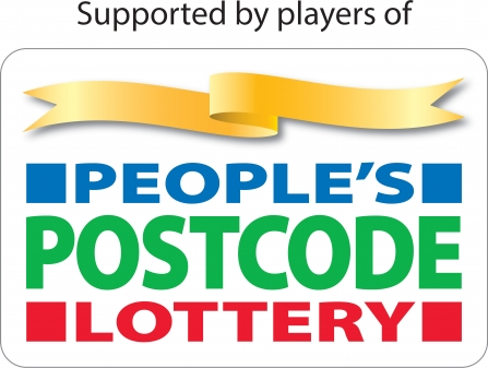 Supported by players of People's Postcode Lottery logo
