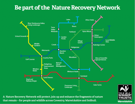 Nature Recovery Network map