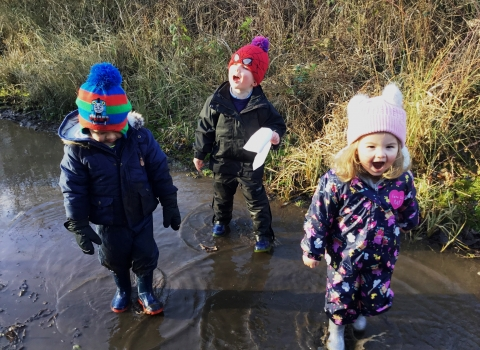 Nature Tots in puddle PPL Paula Irish