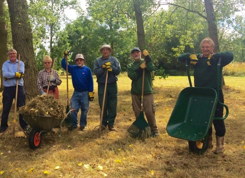 Nature Force Volunteers at Abbey Green Credit John Allton